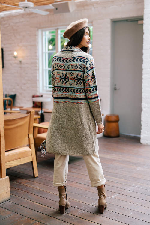 Arlo Cardigan-back