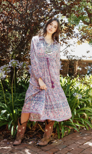 meadow dress lavender