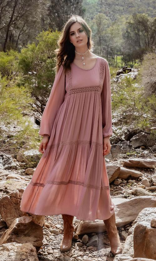 India rose maxi product image